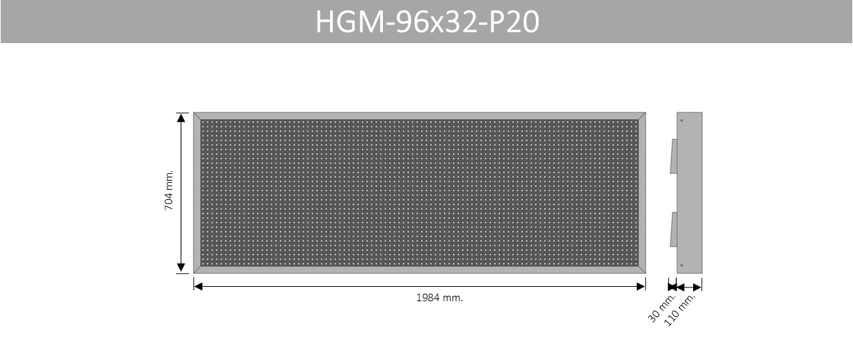 HGM 96X32 P20