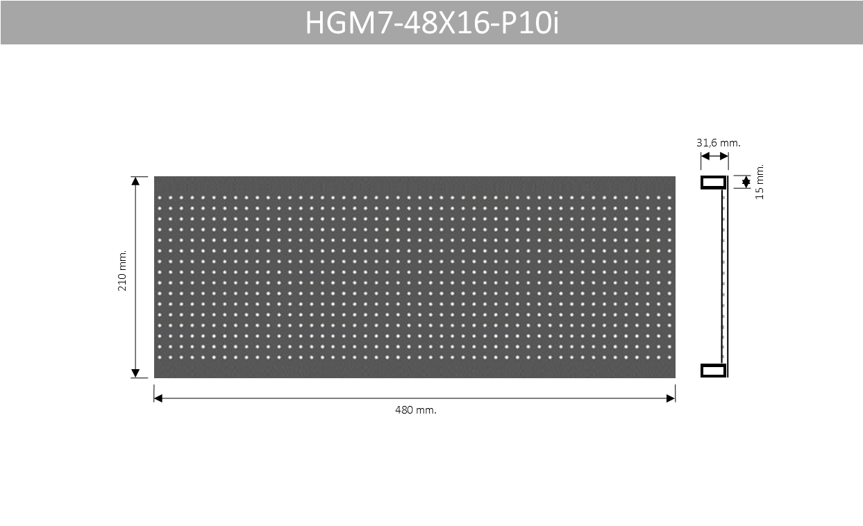 HGM7 48X16 P10i