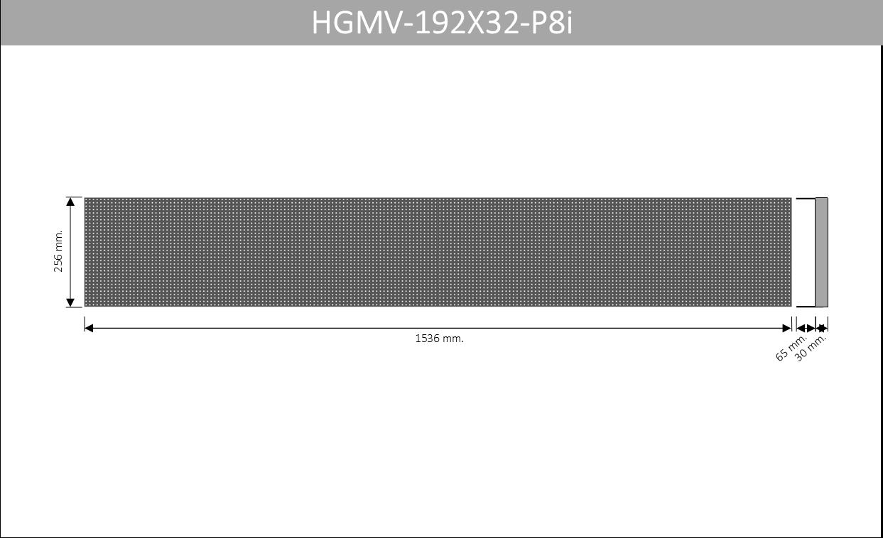 HGMV 192X32 P8i