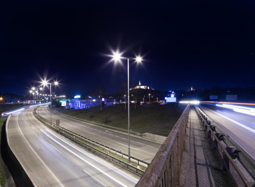Night Road Bypass, Nitra, Slovakia
